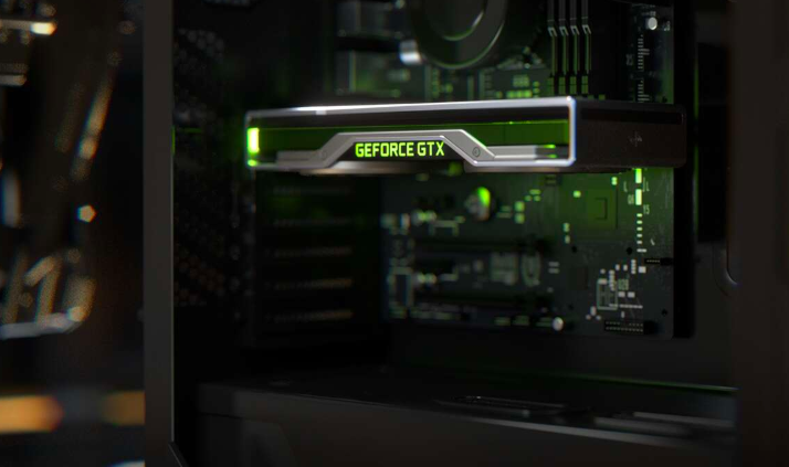 Screenshot from Nvidia website
