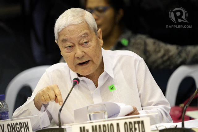 Roberto Ongpin file photo by Rappler
