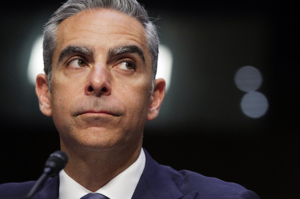 CALIBRA HEAD. Head of Facebook's Calibra David Marcus testifies during a hearing before Senate Banking, Housing and Urban Affairs Committee July 16, 2019 on Capitol Hill in Washington, DC. Photo by Alex Wong/Getty Images/AFP
