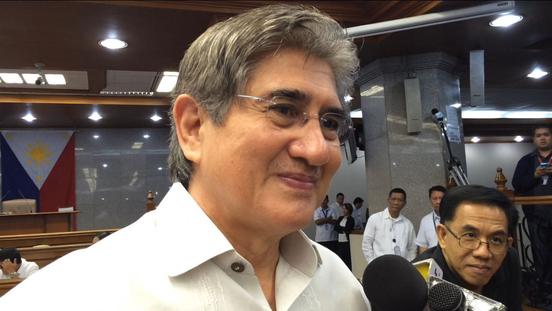 NOT INTERESTED. Senator Gregorio Honasan II said in September that he would rather remain as senator instead of running as Binay's vice presidential bet. File photo by Ayee Macaraig/Rappler