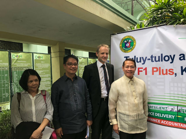 PRIORITIZE HEALTH. (L-R) Pulse Asia Research Director Ana Tabunda, Health Undersecretary Enrique Domingo, WHO Country Representative Gundo Weiler, Health Secretary Francisco Duque say health remains an urgent concern for most Filipinos. Photo by Sofia Tomacruz/Rappler