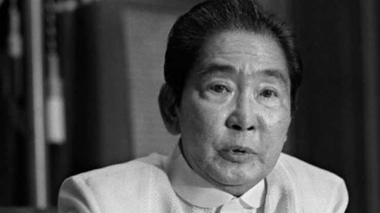 ECONOMIC DISASTER. Ferdinand Marcos at the height of protests against him. File photo by AFP