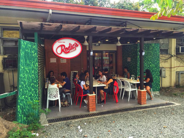 POPULAR SPOT. Rodic's Diner recently underwent a renovation. File photo by Emerald Hidalgo/Rappler