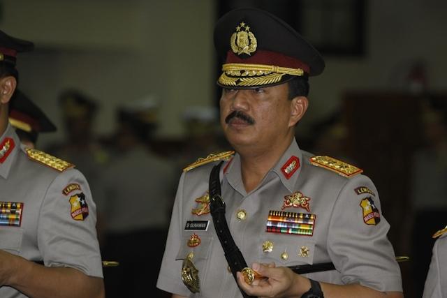 Comr. Gen. Budi Gunawan seen here in a December 2012 file photo.  Photo by Subekti/Tempo
