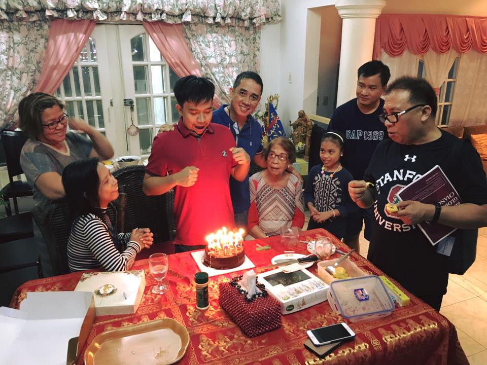 FAMILY. Photo taken during New Year's Eve in 2016. A lot has happened since then to the senator and her family. Photo from De Lima family