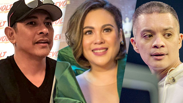 DEATH HOAX. From L-R: Gary Valenciano, Claudine Barretto, and Bamboo Manalac are celebrities who have been victims of death hoaxes. File photos by Alexa Villano/Rob Reyes/Rappler