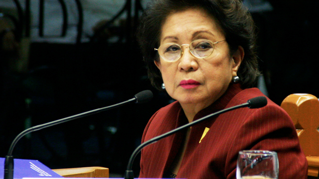 FULL TERM. Ombudsman Conchita Carpio Morales is entitled to a full 7-year term, says the Supreme Court. File photo by Rappler