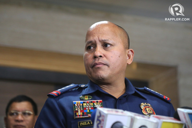 CALL OF DUTY. PNP chief Director General Ronald dela Rosa has another government post waiting for him. Rappler file photo
