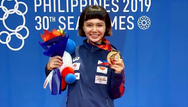 HEARTBREAKING. Despite winning a gold, Philippine karate star Junna Tsukii says she feels 'very sad.' Photo from Tsukii's Facebook account