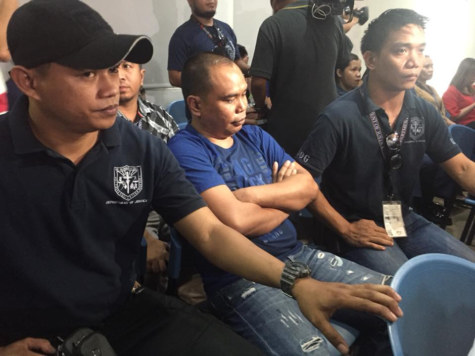 WITNESS. Marcelo Adorco, the police's lone witness so far, attends the new preliminary investigation at the Department of Justice on April 12, 2018. Photo by Lian Buan/Rappler