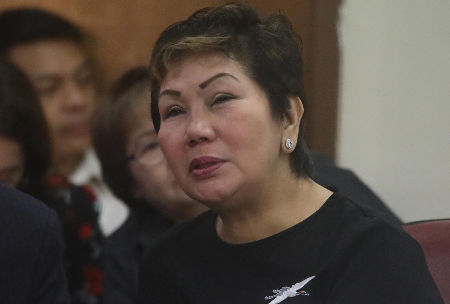 INTERFERENCE. Court of Appeals (CA) Associate Justice Remedios Salazar Fernando says Chief Justice Maria Lourde's Sereno's 'interference' in a conflict between CA and the House of Representatives shows 'lack of delicadeza.' Photo by Darren Langit/Rappler
