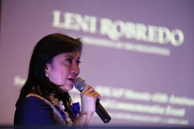 NO VICTORY YET. The Presidential Electoral Tribunal tells Vice President Leni Robredo it is too early for her to claim she won the electoral case she is facing. File photo by OVP