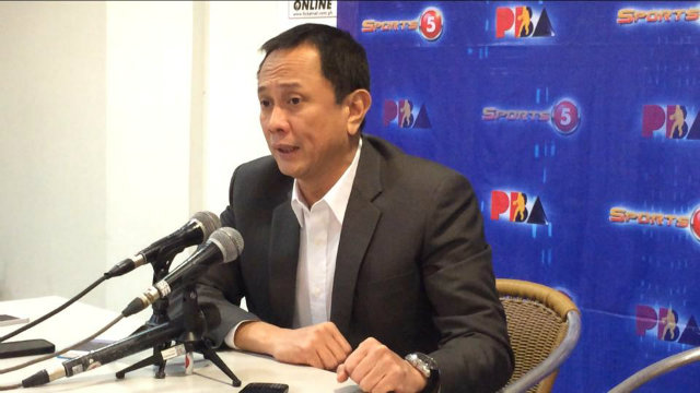 RETIRING. PBA Commissioner Chito Salud is expected to announce his retirement on Sunday, February 15. File photo by Jane Bracher/Rappler