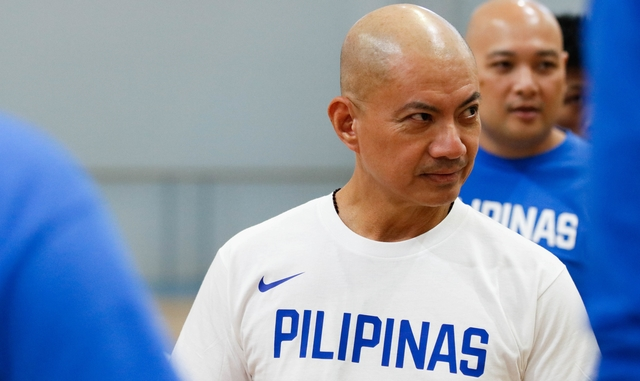 BIG STAGE. For the first time in his coaching career, Yeng Guiao will call the shots in the FIBA World Cup. Photo from SBP-CignalTV