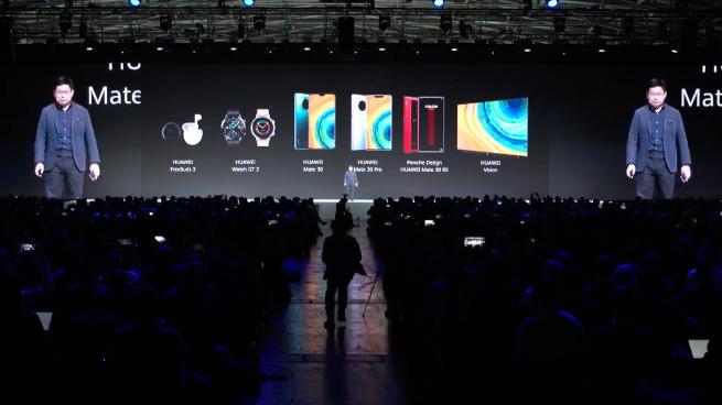 HUAWEI PRODUCTS. Screenshot from Huawei/YouTube