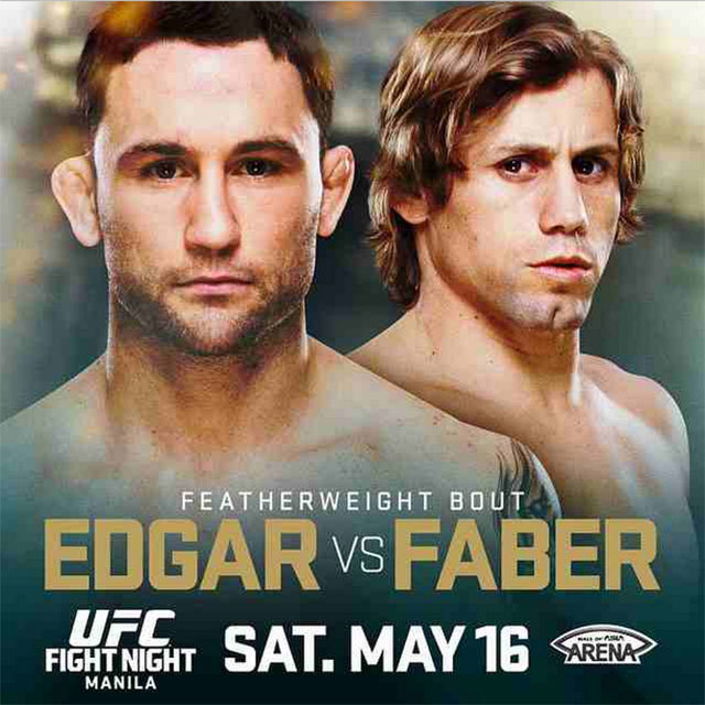 Frankie Edgar (L) and Urijah Faber (R) are set to headline UFC's first Manila event. Photo from UFC's Instagram account
