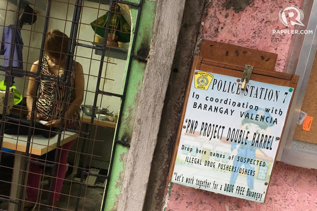 'DRUG BOXES'. Barangay Valencia in Quezon City installed wooden boxes to accept reports against drug suspects. Photo by LeAnne Jazul/Rappler