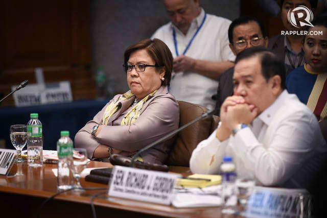 WHAT AWARD? Senator Richard Gordon belittles the foreign award given to his rival Senator Leila de Lima, saying he only heard of the award-giving body now.