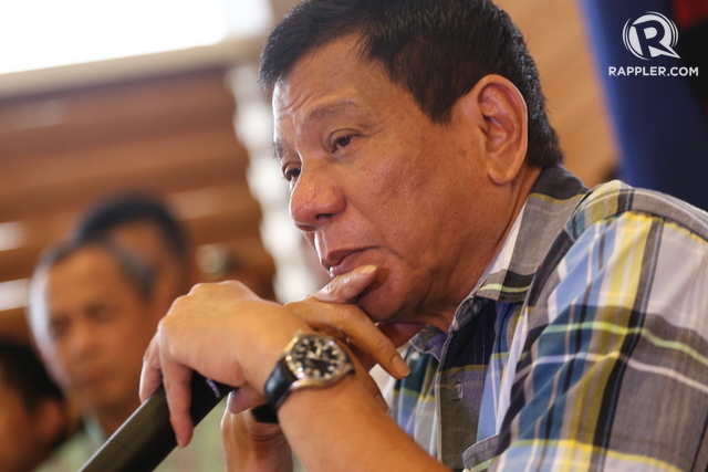 STACKED DECK. President-elect Rodrigo Duterte will face a variety of economic headwinds once he assumes the presidency, including weak agriculture growth and the prospect of La Niu00f1a, global volatility and weak exports, as well as rising oil prices. File photo by Manman Dejeto/Rappler