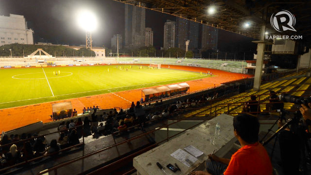 CLASSIC. The Rizal Memorial Stadium is one of the country's most iconic. Photo by Bob Guerrero/Rappler