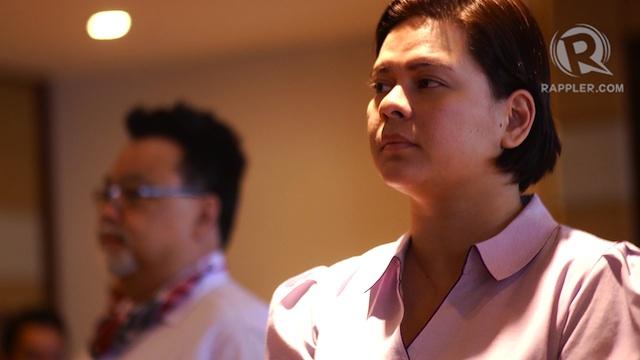 SENATOR SARA? Davao City Mayor Sara Duterte-Carpio reacts to her inclusion in the Magic 12 in two Senate race surveys.