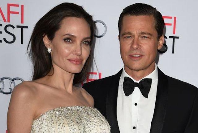 Angelina Jolie menggugat cerai suaminya, Brad Pitt karena alasan perbedaan pandangan dalam mengasuh keenam anak mereka. Foto oleh Mark Ralston/AFP.
