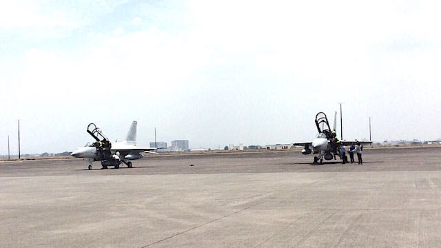 4TH BATCH. The Philippine Air Force formally receives two more FA-50 lead-in fighter trainers it acquired from South Korea. DPC photo