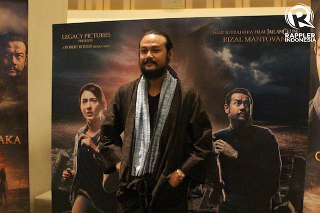 AKTOR. Dwi Sasono, salah satu aktor yang juga berperan di film 'Gerbang Neraka'