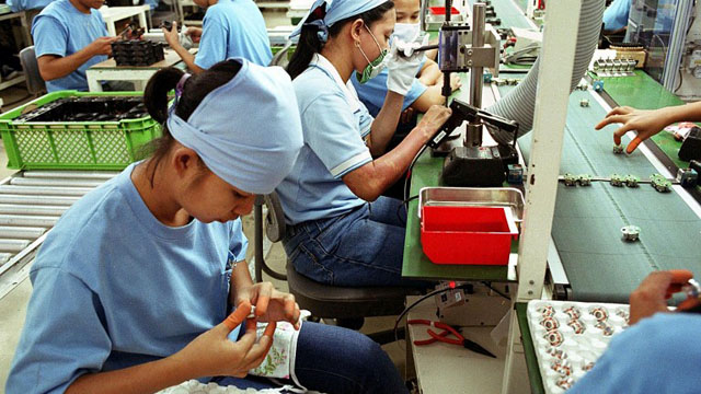 PROMISING. u201cThe Philippine business sector maintains expectations of favorable [manufacturing] performance in the near-term and growth drivers in the past year are expected to perform positively in the next period,u201d NEDA Chief Arsenio M. Balisacan says. File photo by Agence France-Presse