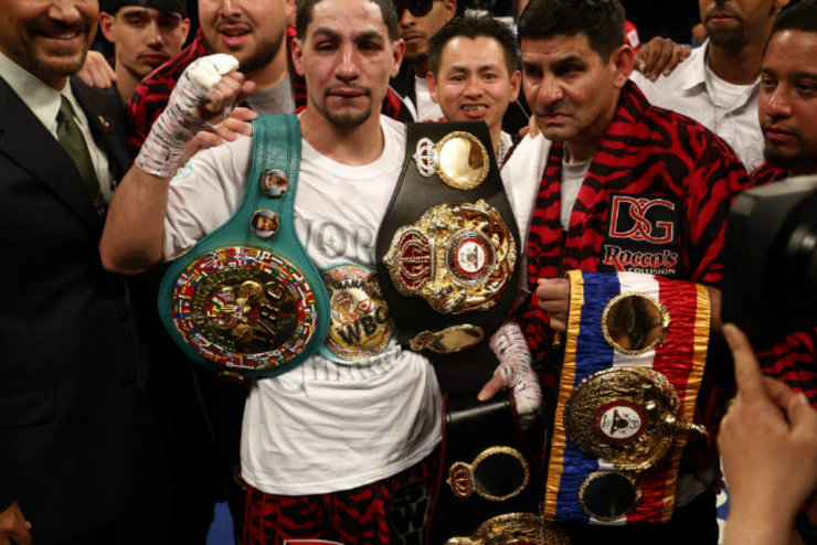 Danny Garcia would be the biggest fight for Pacquiao at 140 pounds. File photo by Thais Llorca/EPA