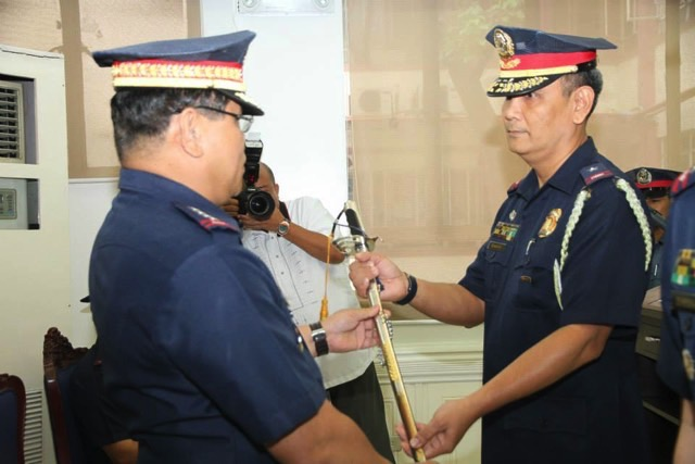 MAR'S CHOICE? Police Deputy General Marcelo Garbo (right) with Director General Alan Purisima (left) during better times. PNP PIO file photo