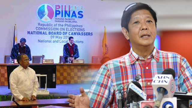 OUT OF PROPORTION? The Comelec says the Marcos camp is making a big deal out of a simple 'cosmetic change' in the Transparency server results files