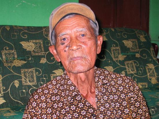 Wagiyo (90 tahun), dari Boyolali. Foto oleh Ari Susanto