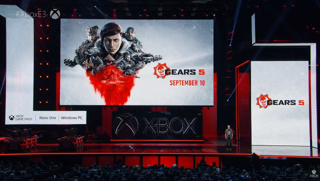 GEARS 5. It's set for a September 10 release date. Screenshot from livestream