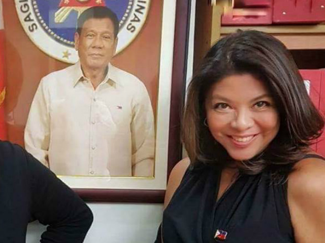 NEW ROLE? Lorraine Badoy may soon have a new role under the Duterte administration. File photo from the Department of Social Welfare and Development