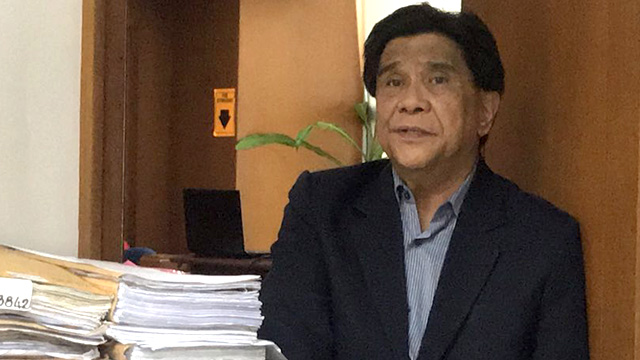 'HIGH-PROFILE' CASES. Judge Elmo Alameda of Makati City RTC Branch 150 is no stranger to high-profile cases. Photo by Aika Rey/Rappler