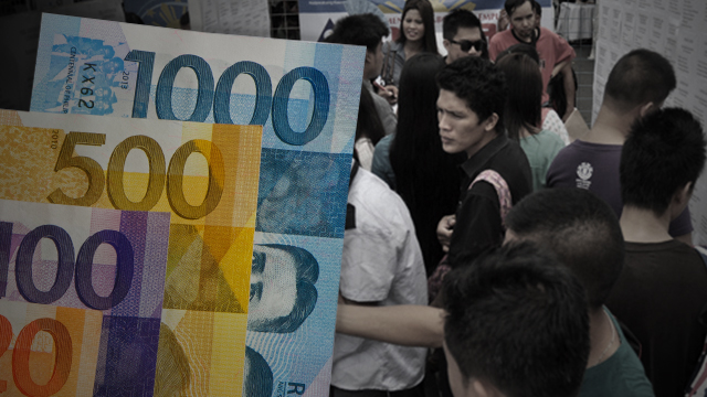 BURDEN? Labor unions say the tax reform measure signed by President Rodrigo Duterte will just add burden to the plight of the labor sector.