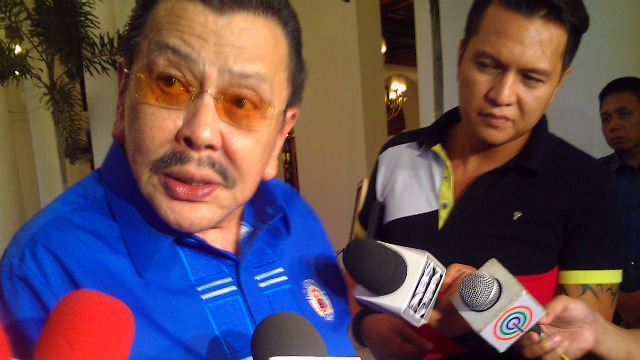 WHO WILL ERAP ENDORSE? The former president says he will go for whoever will continue his programs when he was in Malacau00f1ang, a stay cut short by 4 years after he was impeached in 2001. Photo by Vincent Bascos/Rappler