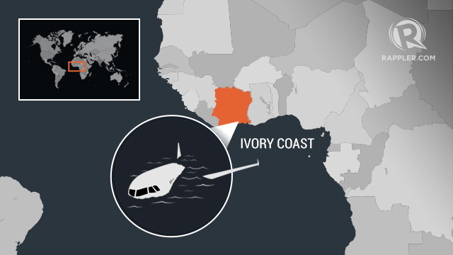 PLANE CRASH. A total of 10 people were reportedly on board the Antonov aircraft that crashed off Ivory Coast.