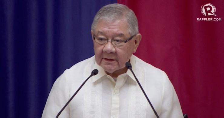 CARETAKER REP. Feliciano Belmonte is appointed caretaker of Batanes in the House of Representatives. Rappler file photo
