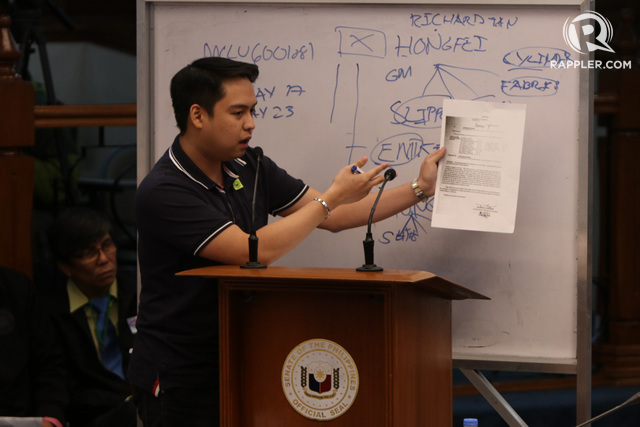 INDICTED. Mark Taguba admits to giving grease money to officials and working for high-paying clients to fasttrack shipments in the Bureau of Customs. Photo by Lito Boras/Rappler