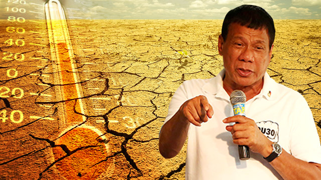 LEADER. Rodrigo Duterte, as president, would also be Chairman of the Climate Change Commission. Image by Alejandro Edoria / Rappler