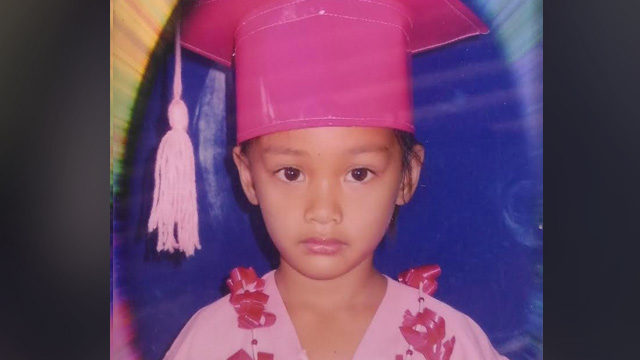 FAMILY JOKESTER. Relatives describe Danica Mae Garcia as a happy, kind, and obedient kid, the jokester in the family