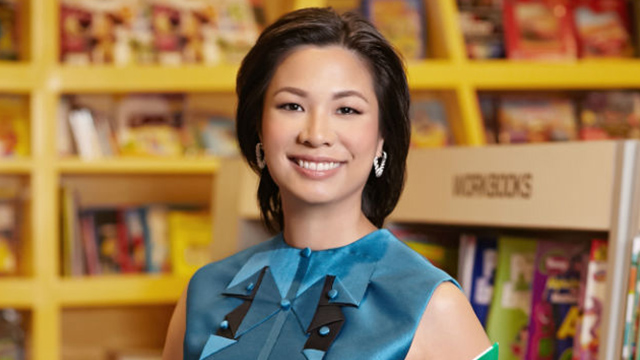 BUILDING A FUTURE. National Bookstore, co-run now by the younger generation of Ramoses like Xandra Ramos-Padilla, will continue to grow the country by looking after the future of young, Filipino readers. Rappler file photo