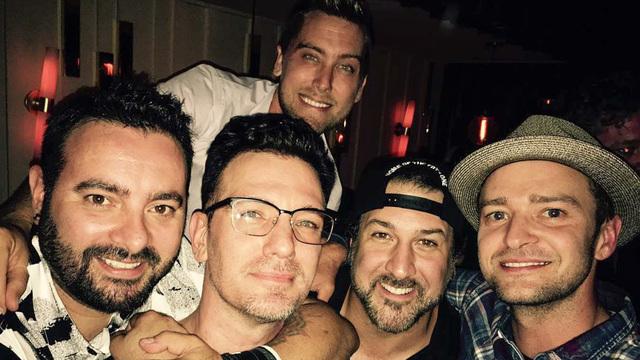 Foto dari akun Instagram Justin Timberlake.