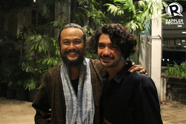 DUET. Duet akting Dwi Sasono dan Reza Rahadian bisa disaksikan di 'Gerbang Neraka'