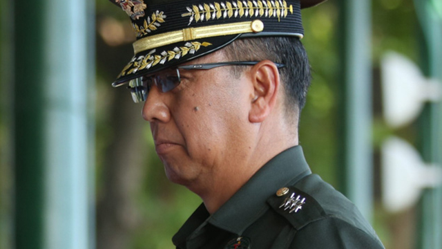 PEACE. New AFP Chief Lieutenant General Carlito Galvez Jr. wants to walk the path of peace. Photo by PCOO