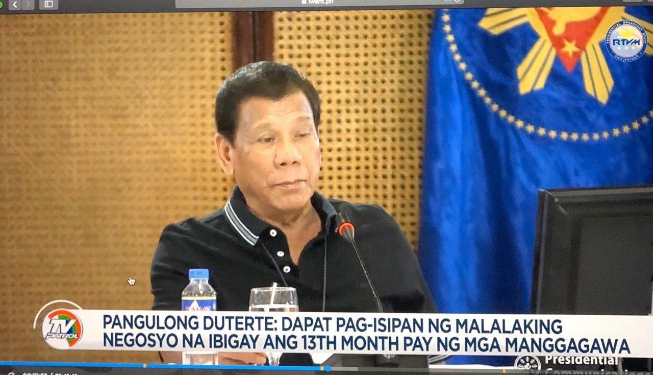 Screenshot from ABS-CBN News