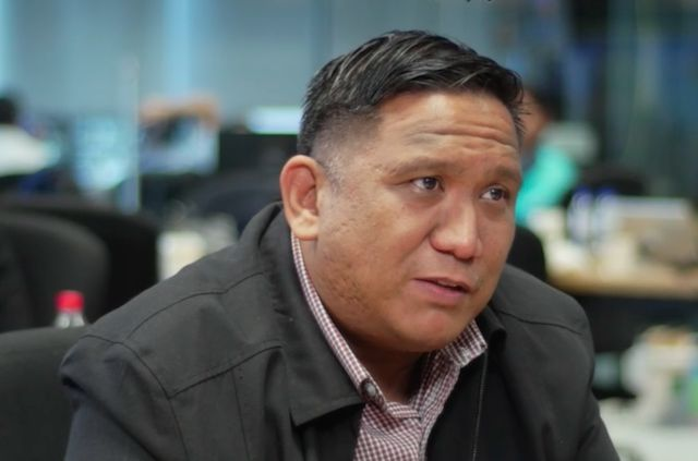 RANJIT RYE. UP assistant professor Ranjit Rye remains optimistic about Philippine democracy. Rappler screengrab