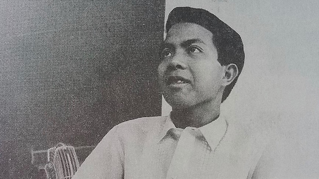 STUDENT LEADER. Edgar Jopson was well known for his active role in the student movement. Photo from Wikipedia